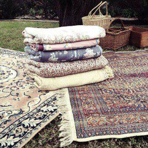 Old refinery vintage picnic rug hire adelaide for Au maison picnic blanket